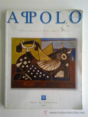 Catálogo de subastas Apolo
