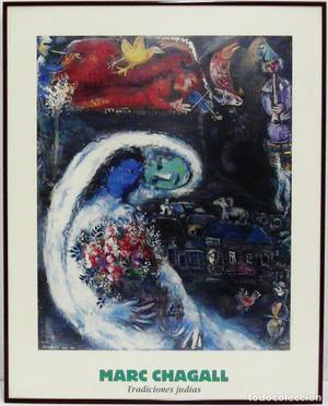 Chagall, Marc. Cartel de exposición.
