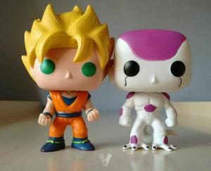 Dos funkos nuevos Goku Freezer