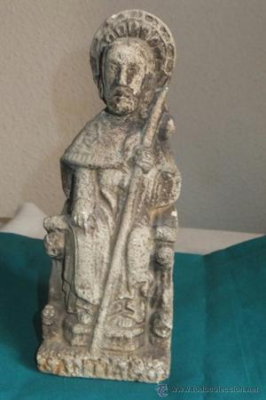 Escultura figura de la imagen de Santiago Apostol