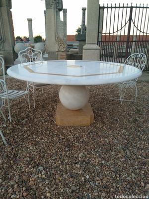 Mesa de marmol macizo