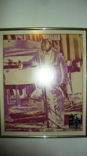 POP ART Y FOTOGRAFIA ORIGINAL - LOUIS ARMSTRONG