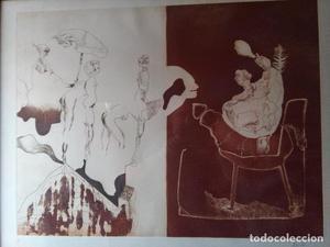 Pintor ALFONSO COSTA BEIRO (litografia P/A)