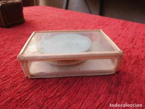 Singular caja de cristal para guardar escapulario ESC-1