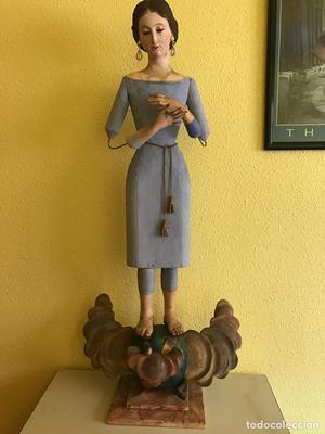 Virgen Inmaculada cap y pota de vestir. Siglo XIX