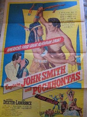 Captain John Smith and Pocahontas Cartel original