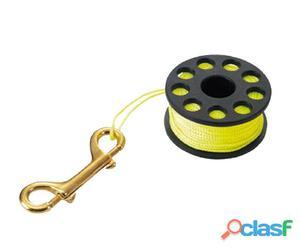 Carretes y spools Tecnomar Guide Reel With Bronze Carabiner