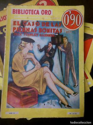 Colección de 10 Novelas Biblioteca Oro de E. Stanley