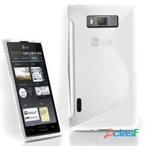 Funda Gel S-line para LG Optimus L7 (P700/P705) (Color: