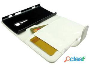 Funda Soporte Sony Xperia ION LT28i (Color: Blanco)