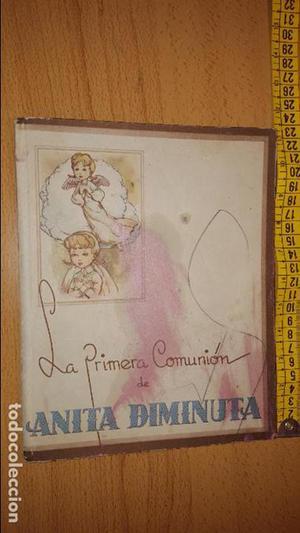 LIBRO CUENTO LA PRIMERA COMUNION DE ANITA DIMINUTA POR JESUS