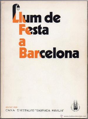 LLUM DE FESTA A BARCELONA