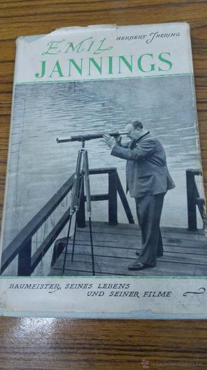 Libro Herbert Thering- Emil Jannings .