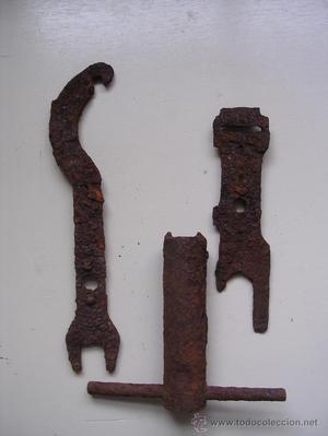 Set de 3 herramientas zapador o artificiero (Pionier).