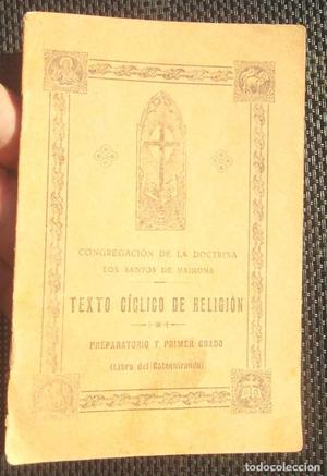 Texto cíclico de religión  Congregación de la