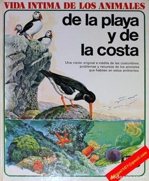 VIDA ÍNTIMA DE LOS ANIMALES DE LA PLAYA Y LA COSTA