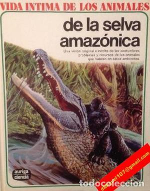 VIDA ÍNTIMA DE LOS ANIMALES DE LA SELVA AMAZONICA