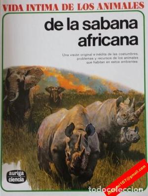 Vida íntima de los animales de la Sabana Africana