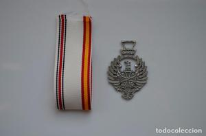 WWII THE GERMAN MEDAL OF THE SPANISH BLUE DIVISION
