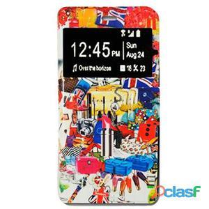 X-One Funda Libro Samsung S6 Edge London Re
