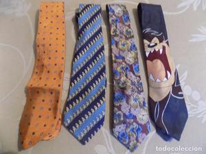 4 corbatas Vintage