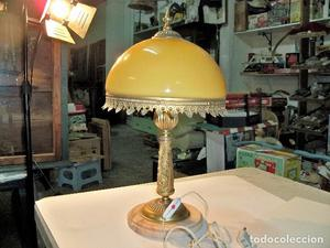 BONITA LAMPARA DE SOBREMESA ANTIGUA