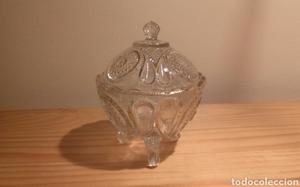 Bombonera de cristal Vintage