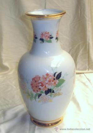 Jarron porcelana 31 cm - Floral Hortensia
