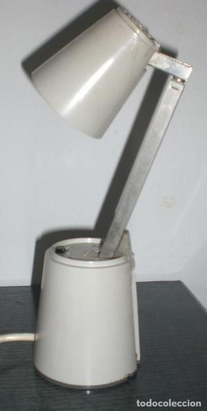 LAMPARA GRIS PERLA VINTAGE VOYAGE