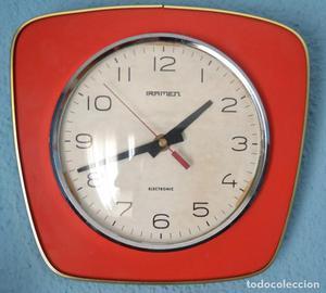 Reloj de pared estilo vintage posot class - Reloj de pared vintage ...