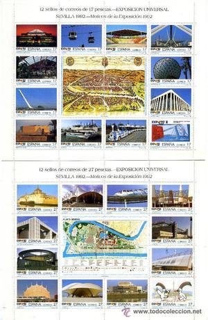 SERIE COMPLETA EXPOSICIÓN UNIVERSAL DE SEVILLA EXPO '92 EN