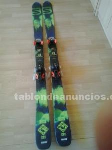 Skis alpino gama media alta