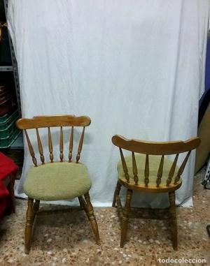 Pareja de sillas vintage originales posot class - Sillas originales ...