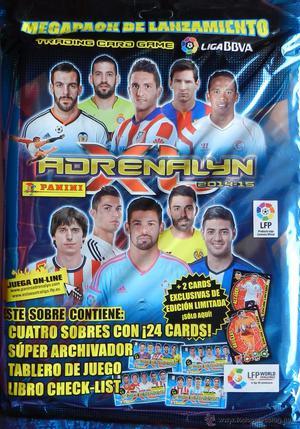ALBUM ARCHIVADOR VACIO ADRENALYN XL BBVA  TRADING