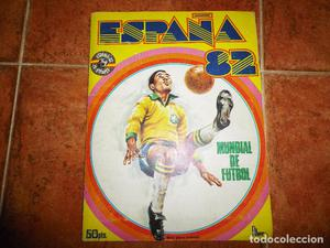 ALBUM DE CROMOS ESPAÑA 82 MUNDIAL DE FUTBOL COMPLETO MUY