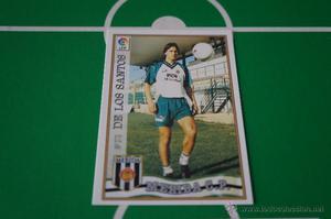 CROMO CARD DE FUTBOL:DE LOS SANTOS DEL MERIDA