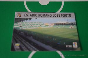 CROMO CARD DE FUTBOL:ESTADIO DEL MERIDA C.F.,Nº360,LIGA