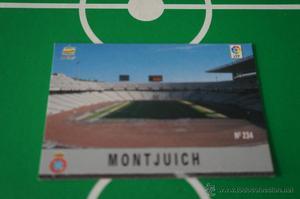 CROMO CARD DE FUTBOL:ESTADIO DEL R.C.D.