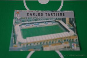 CROMO CARD DE FUTBOL:ESTADIO DEL REAL OVIEDO,Nº339,LIGA