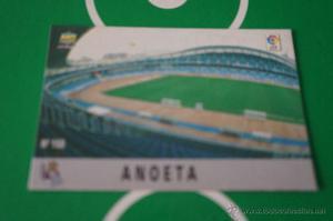 CROMO CARD DE FUTBOL:ESTADIO DEL REAL SOCIEDAD,Nº150,LIGA