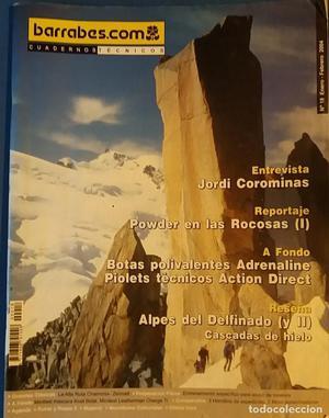CUADERNOS TÉCNICOS BARRABES Nº 18 ENERO FEBRERO .