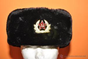 Gorro ejercito ruso de pelo