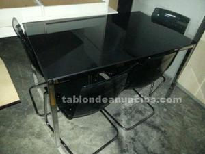 Mesa para comedor negra