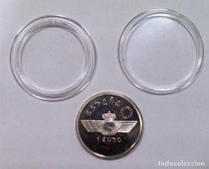 Moneda de 1 euro, aviación, ejército del aire