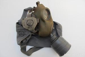 * Rara mascara antigas republicana con marcajes brigadas