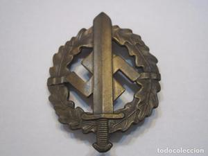 SA SPORTABZEICHEN bronce (2 mod.), Alemania 2 G.M.varias