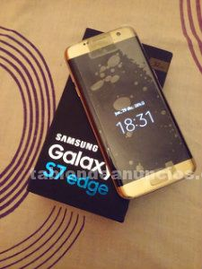 Samsung galaxy s7 edge 32g golden platinun