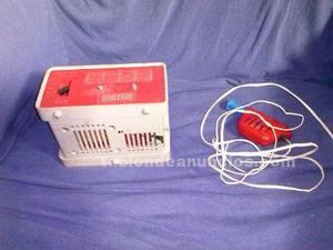 Transformador antiguo y mando scx