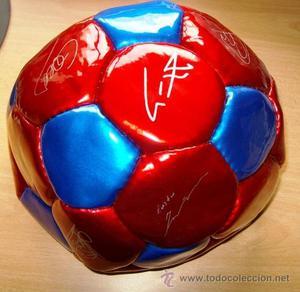 balon futbol - barça / f c barcelona - sin hinchar - sin