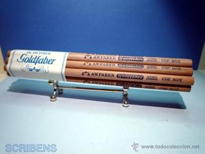 A.W. FABER, ANTIGUO MAZO CON 12 LAPICES GOLDFABER Nº